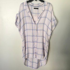 Max Jeans Flannel Tunic